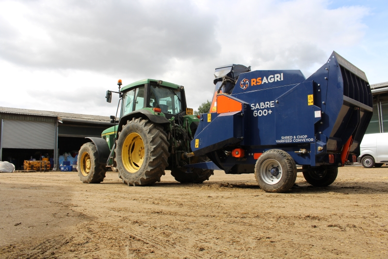 SABRE 600+ with tractor