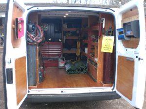 service van rear