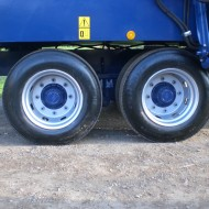 215 wheels twin axle