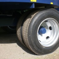 215 wheels single axle
