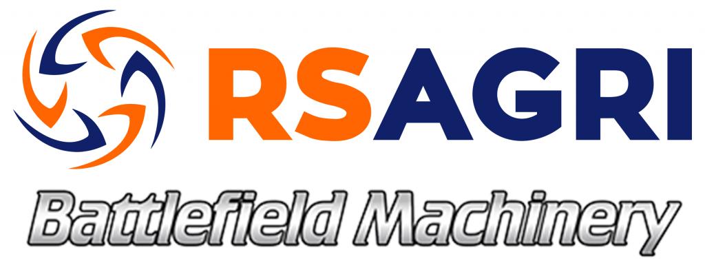 RS Agri Logo & Battlefield Machinery Logo